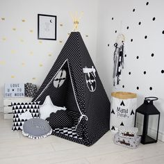 Teepee Set Kids Play Tent Tipi Kid Play Teepee Child Teepee Wigwam Zelt Tente - Scandi & Large Set of Teepee Kids Play Tent Tipi Soaring by FUNwithMUM ...