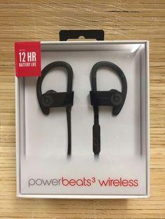 Powerbeats3 Wireless Earphones - Black Now £129.98, Save £39.97