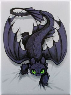 How to Train Your Dragon Toothless on the Prowl Magnet Arte Disney, Disney Art, Toothless Tattoo, Toothless Drawing, Toothless And Stitch, Baby Toothless, Dragon Art, How To Train Your Dragon, Mythical Creatures