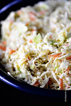 Coleslaw Recipe  from addapinch.com