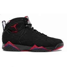 Air Jordan 7 Retro Raptors Charcoal Red 2012 Black True Red Dark Charcoal Club Purple 304775-018  $102.00 http://www.jordanpatros.com