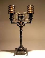 Bildergebnis für steampunk wall lamp