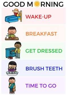 Toddler Morning Routine, Printable Picture Schedule, Transform Your Toddler's Mo. - Toddler Morning Routine, Printable Picture Schedule, Transform Your Toddler's Morning -