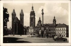 Cathedral and White Tower Hradec Kralove Czech Republic