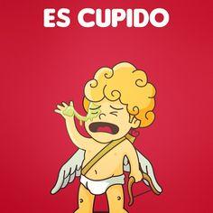 Happy Valentines day | Feliz dia de san Valentin #EsCupido #lol