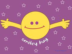 Who wants a smiley hug? Smiley Happy, Happy Smile, Happy Faces, Hug Quotes, Happy Quotes, Happiness Quotes, Hug Meme, I Need Your Hug, Hugs And Cuddles