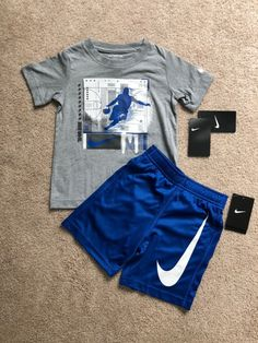 Includes drifit Nike shorts and Nike basketball T-shirt NWT boys size Swag Outfits Men, Tomboy Outfits, Tomboy Fashion, Nike Outfits, Casual Outfits, Cute Sweatpants Outfit, Nike Clothes Mens, Streetwear Shorts, Mens Jogger Pants