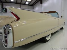 1960 Cadillac Coupe DeVille series 62 convertible...