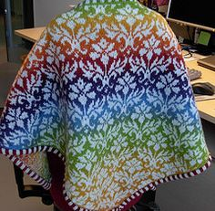 Ravelry: Thistle pattern by Pinneguri. The pattern motif can be used as a jumper, shawl, scarf or..........