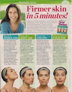 Hostile to Aging Skin Care, What You Should Know – Skin Care Treatments, Tips & Advice Face Yoga Exercises, Stretches, Workout Exercises, Workouts, Facial Yoga, Face Massage, Anti Aging Facial, Skin Firming, Beauty Routines