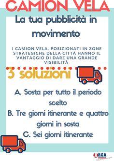 #CamionVela: La soluzione migliore per la tua pubblicità in movimento! Scegli noi, chiamaci 📱 02 8703 2998 #bsacommunication #tuttoperlatuaimmagine
