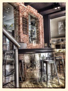 Interior design | decoration | home decor | industrial | Steffans Jewellers coffee bar.