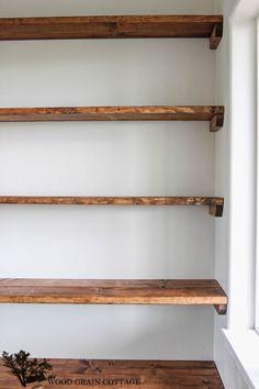 59 ideas for wood shelves living room diy storage Hallway Closet, Bathroom Closet, Closet Bedroom, Bathroom Storage, Diy Bedroom, Trendy Bedroom, Bedroom Ideas, Bathroom Shelves, Front Closet