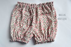 Bloomers, Diaper Cover, Bloomer Shorts, Baby Girl Bloomers, Pink Bloomers, - pinned by pin4etsy.com