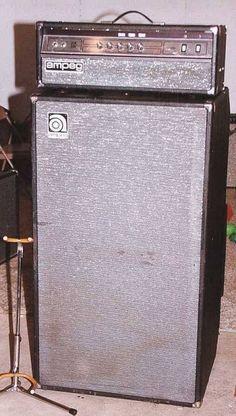Vintage Ampeg V4b Head + 2x15 Cabinet