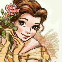 Belle.... ARTIST - @DOROTAPARASOL
