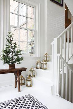 simple minimalist holiday decor // anne sage