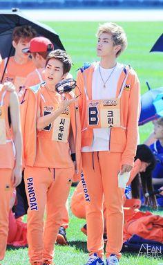 EXO Xiumin & Kris