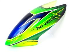 FUSUNO CANOPY FUTURE GREEN FOR ALIGN TREX 450 DFC PRO V2 - VISIT US AT: WWW.RTF-HELI.COM TO GET THIS ITEM.