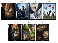How Train Your Dragon Movies Fans Apple iPad 2 3rd 4th Snap On Case Black(1Pcs)