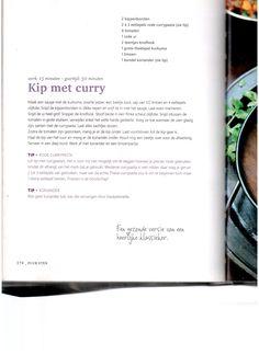 Kip met curry Pascale Naessens