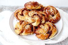 Fika, Pretzel Bites, Cinnamon Rolls, Food Pictures, Nom Nom, Goodies, Food And Drink, Sweets, Bread