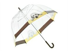 Guide Dogs 60s style retro labrador umbrella - more retro charity Christmas gifts at http://www.charitychoice.co.uk/blog/retro-charity-christmas-gifts/116 @Jen Drake Dogs