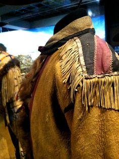 "Fringed shoulder detail. ""Spirit of the Old West"" exhibit. Blackhawk Museum. Danville, CA Zippertravel.com Digital Edition"