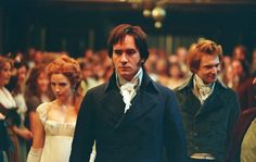 """‪‎MatthewMacfadyen‬ finds a human dimension in the taciturn landowner Fitzwilliam Darcy that was missing in earlier, more conventionally heroic portrayals. Mr. Firth might have been far more dashing, but Mr. Macfadyen's portrayal of the character as a shy, awkward suitor whose seeming arrogance camouflages insecurity and deep sensitivity is more realistic."" (Stephen Holden, The New York Times)"