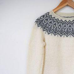 Ravelry: Whinfell pattern by Jennifer Steingass Fair Isle Knitting, Knitting Yarn, Free Knitting, Norwegian Knitting, Icelandic Sweaters, Fair Isle Pattern, Vintage Knitting, Pulls, Fair Isles