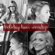 holiday hair roundup | thoughts by natalie #hair #tutorial #holidays