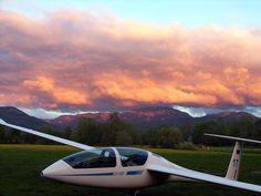 DG 1000 sailplane.