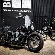 Bobber Style, Custom Harleys, Chopper, Old And New, Old School, Harley Davidson, Motorcycle, Bike, Japan