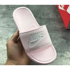 best sneakers 635fd e24ab Womens Nike Benassi JDI Slide Sandals All Pink Nike Clearance Store,  Clearance Shoes, Pink