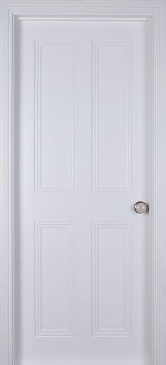 Ardmore 4 Panel White Primed (40mm) | Internal Doors | White Internal Doors