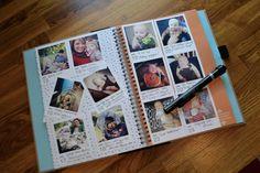 NewlyWoodwards: Instagram photo calendar and gratitude journal