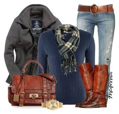 """""""Frye Boots & Bag"""" by wannabchef ❤ liked on Polyvore"""