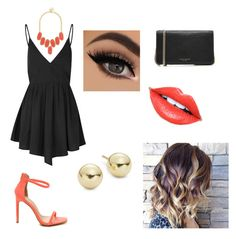 """""""18!"""" by giorgia-brea on Polyvore featuring moda, Glamorous, Marc Jacobs, BaubleBar, Lord & Taylor e Fiebiger"""