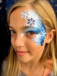 Pretty Snow Flakes Design.
