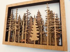 Woodworking Projects Diy, Diy Wood Projects, Wood Crafts, Diy And Crafts, Laser Art, Laser Cut Wood, Wood Laser Ideas, Laser Laser, Laser Cutting