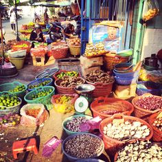 #Colors at the market, #Vietnam, Ho Chi Minh City. One of the stops of our Big 2014 Trip: http://www.tipsfortravellers.com/bigtrip2014/