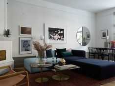 Sophisticated turn of the century apartment - COCO LAPINE DESIGN