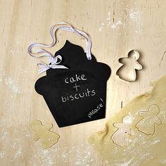 Handmade Cupcake Chalkboard