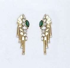 #dbydalia Scaled tassle earrings