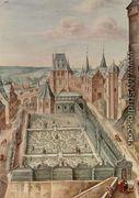 A Garden, 1660 - Johann Jakob Walther