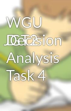jht2 wgu Tutorials for question #00041728 categorized under marketing and marketing.