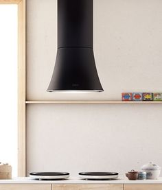 The elegant Greta belongs to Elica Evolution Collection that also includes Audrey and Edith kitchen hoods. Another design by Fabrizio Crisa, this island hood offers Read More