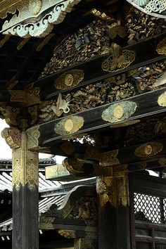 "Nijo Castle 10. Kyoto. Japan. ""-"".  I've been here!kp"