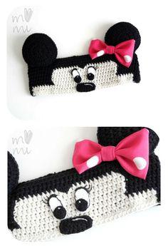 mama-mi Crochet Baby Hat Patterns, Crochet Mandala Pattern, Crochet Kids Hats, Crochet Beanie, Crochet Gifts, Crochet Clothes, Knit Crochet, Crochet Mickey Mouse, Kawaii Crochet