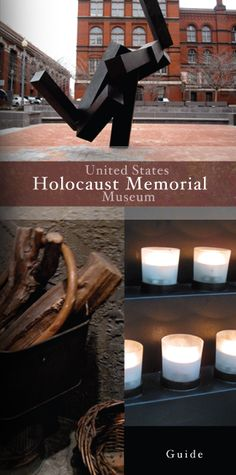 United States Holocaust Memorial Museum, multiple-page brochure providing general information on the museum in Washington, DC by Natalie Rosado, via Behance